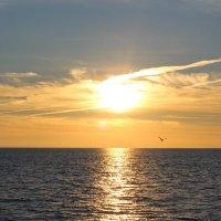 Закат перед ясной погодой :: valeriy khlopunov