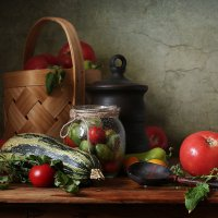 Натюрморт с овощами :: Татьяна Карачкова