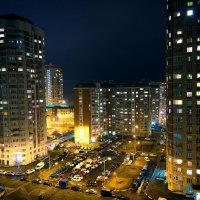 Огни ночьного города :: Николай Фролов