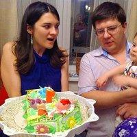 Мой первый Год, мой первый торт! :: Людмила Огнева