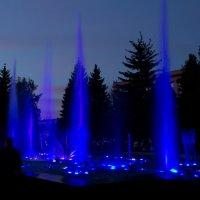 ночной фонтан :: Эдуард Тухватуллин