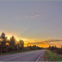вечерний маршрут :: Дмитрий Анцыферов