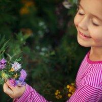 Мгновенья лета: букет для крестной :: Anna Lipatova