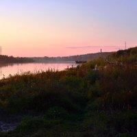 Рыбалка на вечерней зорьке :: Николай Варламов
