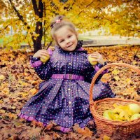 осенние яблочки :: Ольга Гудым