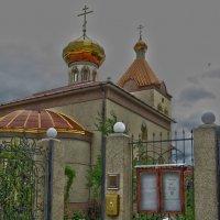 Церковь Сергия Радонежского :: Zinaida Belaniuk