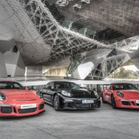 Porsche x3 :: Valerius Photography