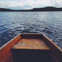 В лодке :: Мария Зубова