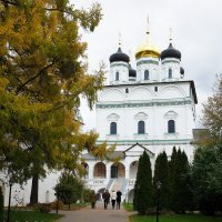 Иосифо-Волоколамский монастырь. Собор Успения Пресвятой Богородицы :: Елена Павлова (Смолова)