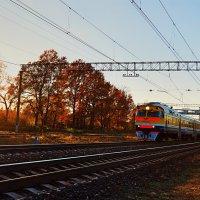 Поезд,осень :: Vitalij P