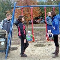 Воскресный день молодых родителей :: Нина Корешкова
