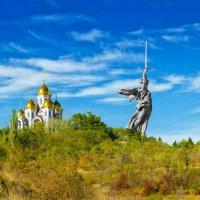 Мамаев Курган :: Александр Афромеев