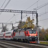 Электровоз ЭП20-031 :: Денис Змеев