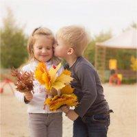 Осенний поцелуй :: Алена Афанасьева