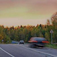 В дороге... :: марк