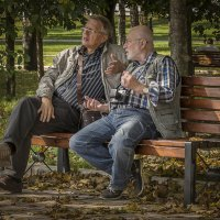 Старые приятели. :: Борис Гольдберг