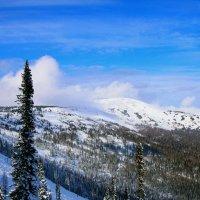 Первый снег в горах :: Милешкин Владимир Алексеевич