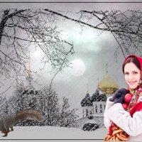 «Помнишь сказочный, Зимний вечер...» :: vitalsi Зайцев
