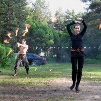 Игры с огнём :: Георгий Кашин