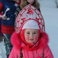 Ребенок колядует :: Елена Мухина