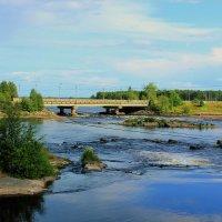 на реке Выг :: Сергей Кочнев