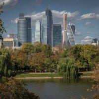 Москва-Сити :: Борис Гольдберг