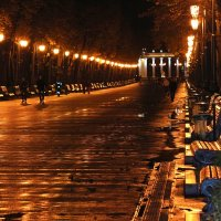 Вечер скучает по солнцу...) :: Ирина Сивовол