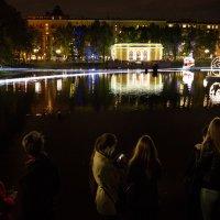 На поверхности воды трепет встреч и ожиданий :: Ирина Данилова