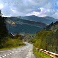 Дорога в Карпаты :: Андрей Зелёный