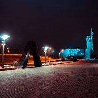 Ночной вид на парк :: Сергей Ярцев