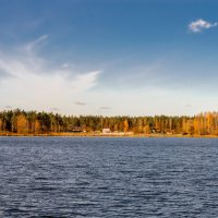 Осенний горизонт :: Юрий Бичеров