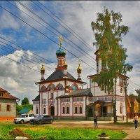 Церковь Иконы Божией Матери Знамение :: Дмитрий Анцыферов