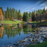 Осень в Альберте :: Валерий Цингауз