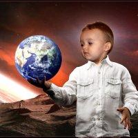 Тяжёленькая то наша Земля. :: Anatol Livtsov