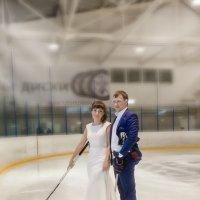 свадьба на льду :: Ксения Подрядчикова