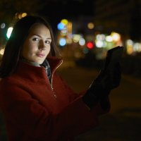 Ночной портрет :: Максим Ноздрачев