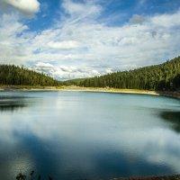 Черное озеро :: Gennadiy Karasev