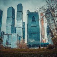 Москва-Сити. Общий план :: Евгения Назарова