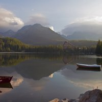 The morning Lake in Mountains :: Roman Ilnytskyi