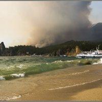 Еще одно фото с горящего Байкала. :: Александр Рейтер