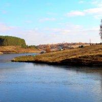 Замёрзшее озеро :: Борис Митрохин