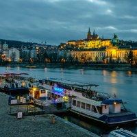 Прага в огнях :: Андрей Володин
