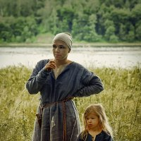 Мама и Дочка :: Алексадр Мякшин