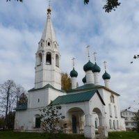 Церковь Николы Рубленый Город - вся устремленная  ввысь... :: Galina Leskova