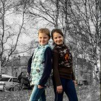 Девочки-подружки :: Валентин Кузьмин
