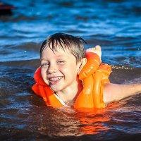 Улыбка ребенка!!! Счастье! Лето! Море! :: Аннета /Анна/ Шу