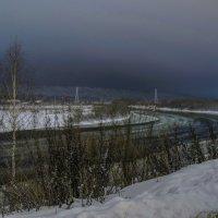 Вечер на реке :: Александр