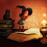 Ведьмочка :: Ирина Полунина