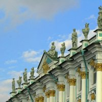 На крыше Эрминажа :: Сергей Карачин