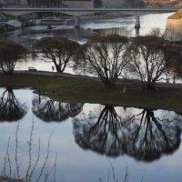 Река Нарва. Российско-Эстонская граница :: Vadim Odintsov